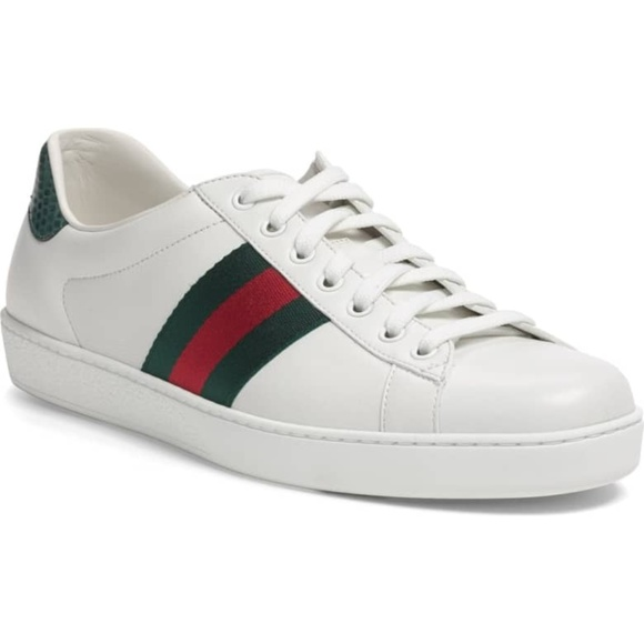 243a26231fe35 Gucci Other - GUCCI New Ace Sneaker White Leather Sneakers